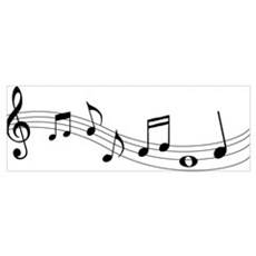Music Notes Canvas Art