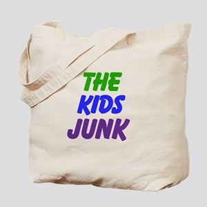 The Kids Junk (Use Your Name) Tote Bag