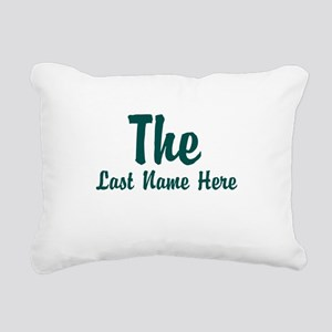 The (Use A Last Name) Rectangular Canvas Pillow