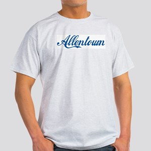Allentown (cursive) Light T-Shirt