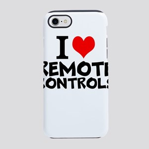 I Love Remote Controls iPhone 8/7 Tough Case