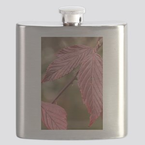 Red Leaves Flask