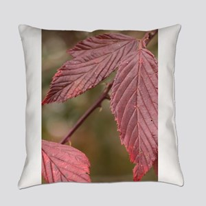 Red Leaves Everyday Pillow
