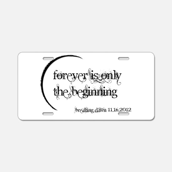 forever 2.png Aluminum License Plate