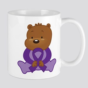 Purple Awareness Bear Mug