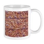 Pointillism Wood Picnic King Mugs