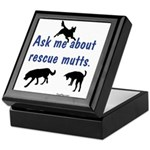 Ask About Rescue Mutts Keepsake Box