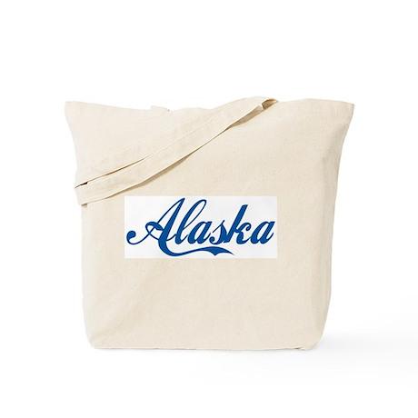 Alaska (cursive) Tote Bag