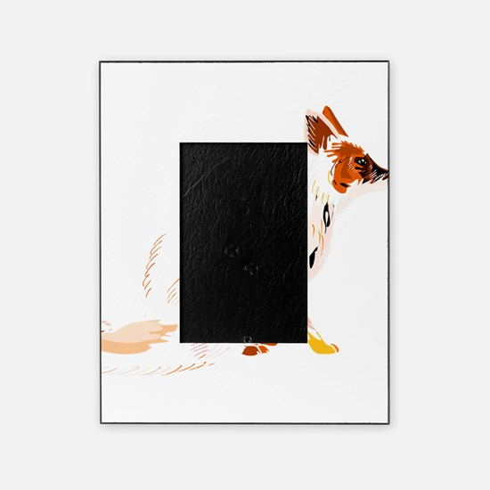 Fading fox Picture Frame