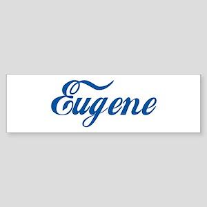 Eugene (cursive) Bumper Sticker