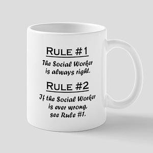 Social Worker Large Mugs
