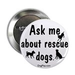 Ask About Rescue Dogs Button