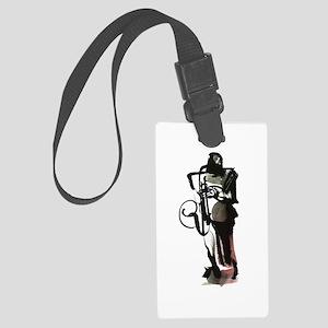 Saxophonist Large Luggage Tag