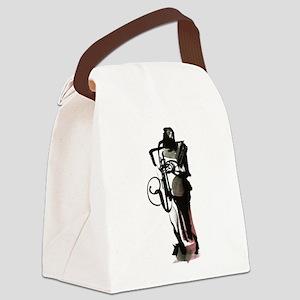 Saxophonist Canvas Lunch Bag