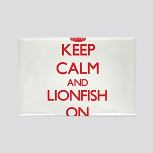 Keep calm and Lionfish On Magnets