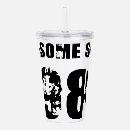 Awesome Since 83 Acrylic Double-wall Tumbler