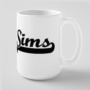 Sims surname classic retro design Mugs