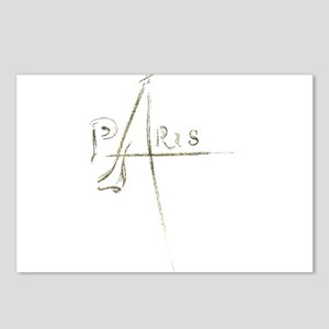 Paris Foil 01 Postcards (Package of 8)
