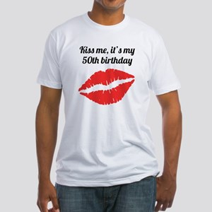 Kiss Me Its My 50th Birthday T-Shirt