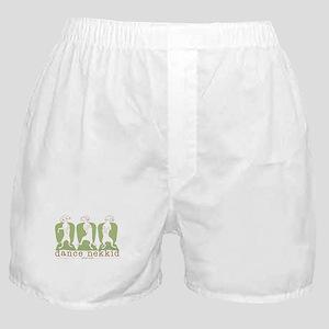 dance nekkid Boxer Shorts