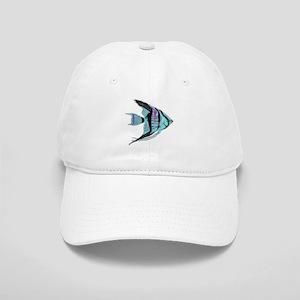 Tribal Blue Angel Fish Cap