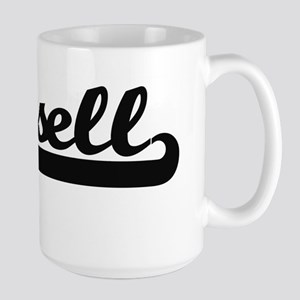 Russell surname classic retro design Mugs