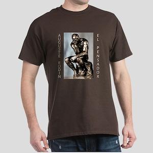 Auguste Rodin El Pensador - Dark T-Shirt