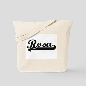 Rosa surname classic retro design Tote Bag