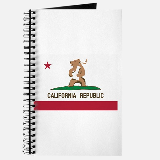 California Bong Bear Flag Journal