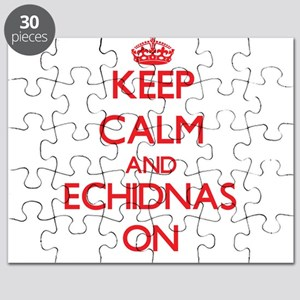 Keep calm and Echidnas On Puzzle