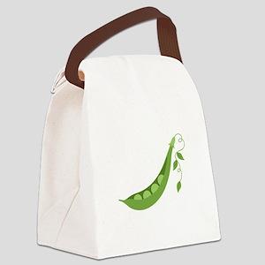 Pea Pod Canvas Lunch Bag