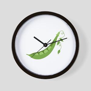Pea Pod Wall Clock