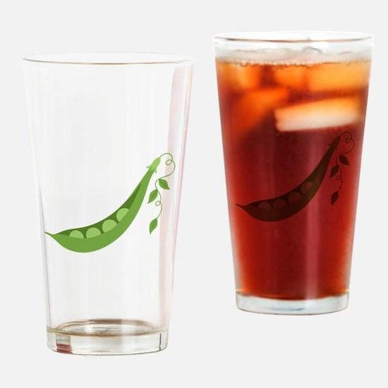 Pea Pod Drinking Glass