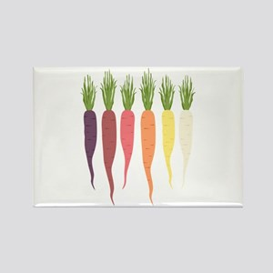 Rainbow Carrots Magnets