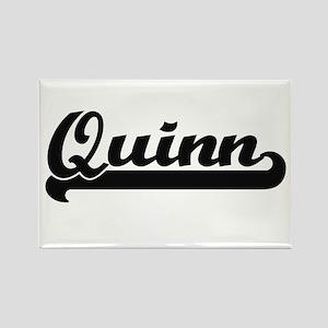 Quinn surname classic retro design Magnets