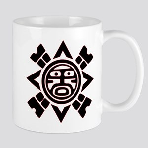 Black Haida Sun God Mug