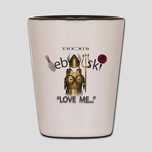 2b9476c13e4 Lebowski Shot Glasses - CafePress