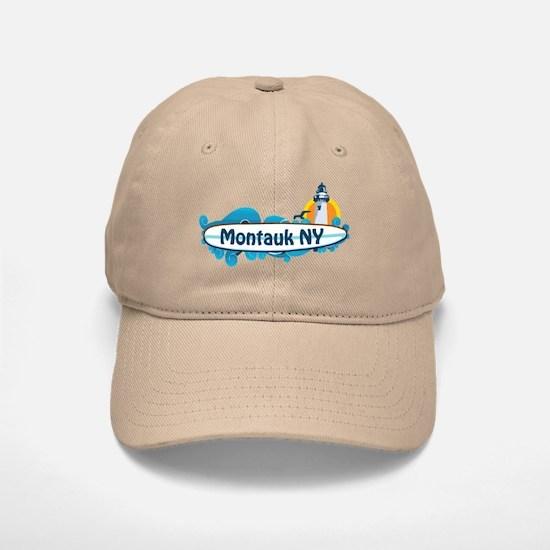 Montauk - Long Island. Baseball Baseball Cap