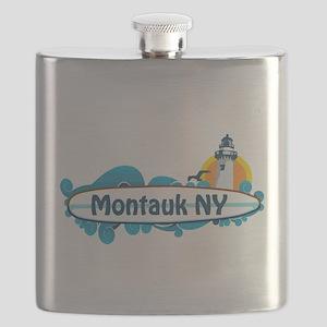 Montauk - Long Island. Flask
