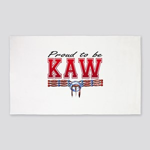 Proud to be Kaw Area Rug