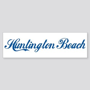Huntington Beach (cursive) Bumper Sticker
