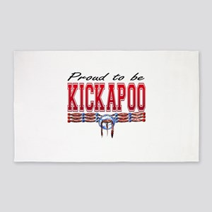 Proud to be Kickapoo Area Rug