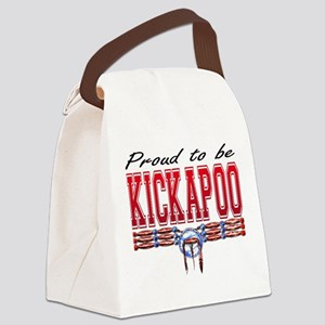 Proud to be Kickapoo Canvas Lunch Bag