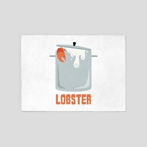 Lobster 5'x7'Area Rug