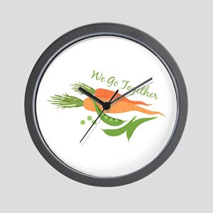 We Go Together Wall Clock