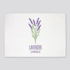 Lavender 5'x7'Area Rug