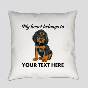Custom Gordon Setter Everyday Pillow