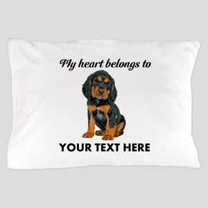 Custom Gordon Setter Pillow Case