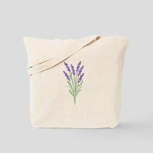 Lavender Flower Tote Bag
