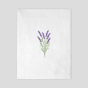 Lavender Flower Twin Duvet